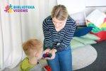 """""""Biblioteka visiems"""" – saugi aplinka autizmo spektro bei kalbos ir komunikacijos sutrikimų turintiems lankytojams"""